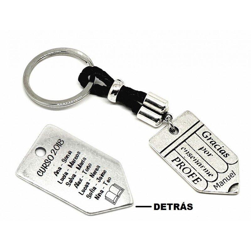f433a68351dc Llaveros para profes ♥ Regalos personalizados para profesores