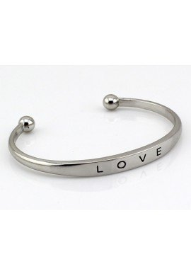 "BRAZALETE ""LOVE"" AJUSTABLE"