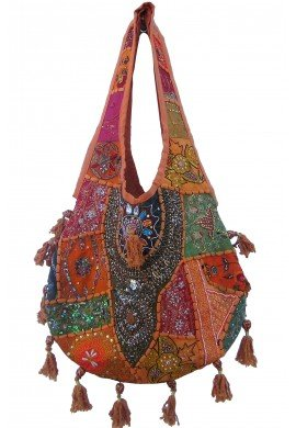 Bolso étnico hippie chic PINK OYSTER